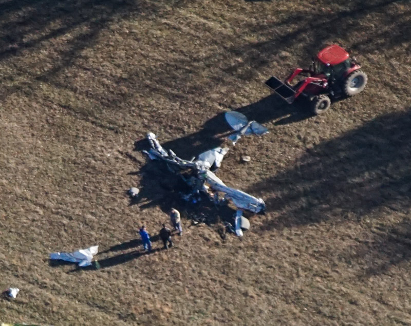 Photos, details released surrounding Chariton County plane crash