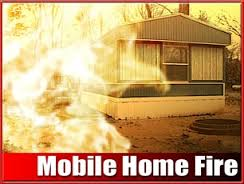 Kingsville mobile home fire ruled arson, suspect charged