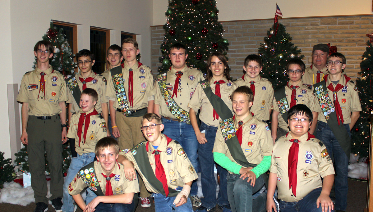 Boy Scouts give back to area veterans