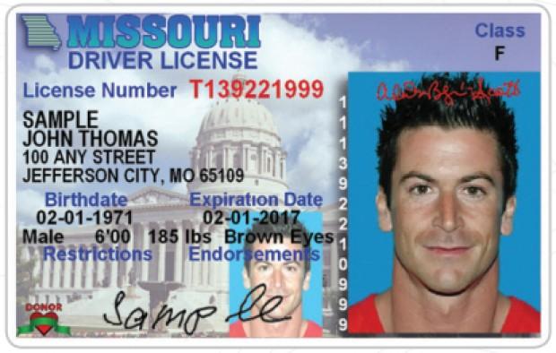 Feds won't accept Missouri driver's licenses