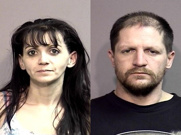 Two suspects arrested in stolen truck
