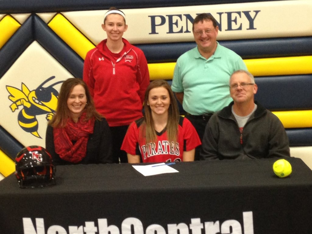 Local Penney High senior signs with NCMC Lady Pirates Softball