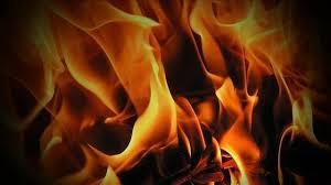 Versailles man injured in burning vehicle