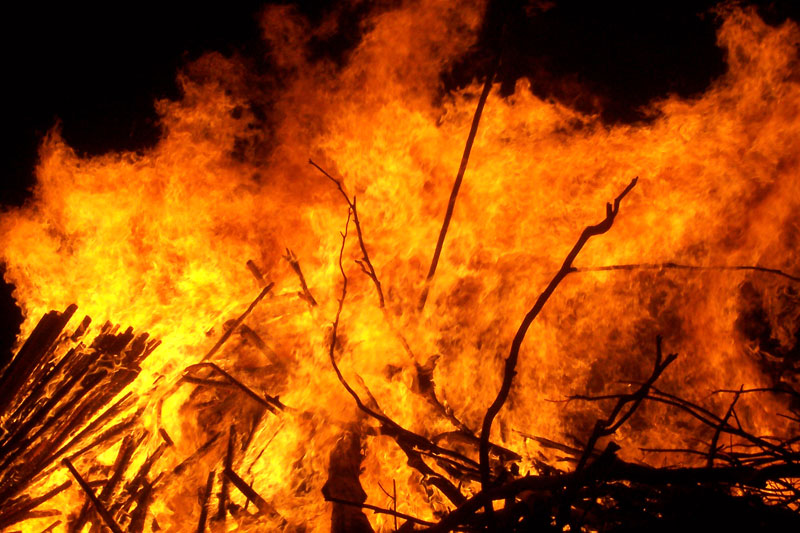 Fire call in Chillicothe turns out to be burning brush