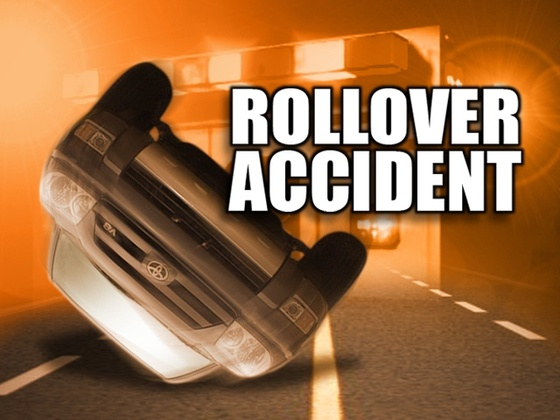 Woman seriously injured in rollover crash Monday