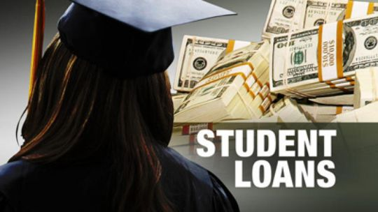 Students' diplomas come with heavy burden of debt