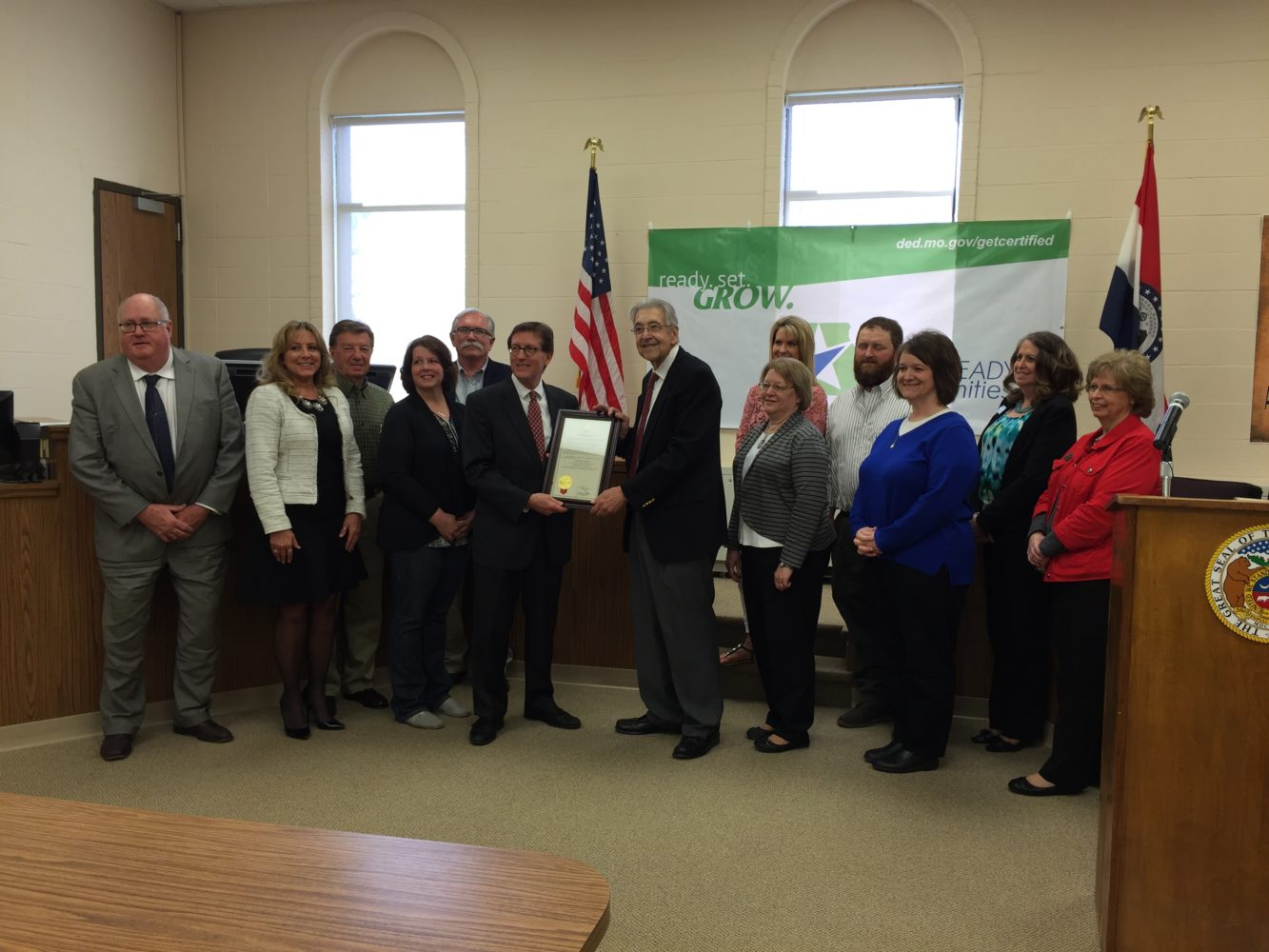 Chariton County certified as a Work Ready Community