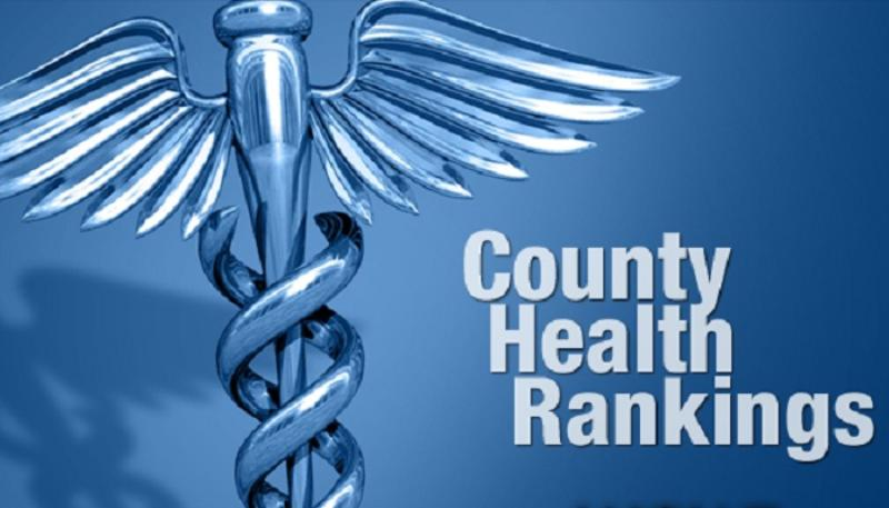 Annual County Health Ranking study cites areas for improvement
