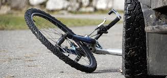 A child riding a bike was hit in Independence Friday night