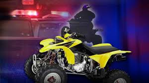 One person seriously injured after ATV rolled and landed on passenger