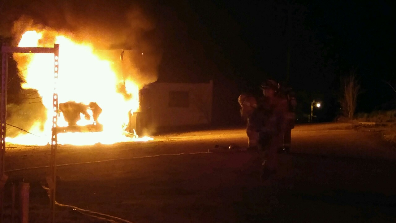 UPDATED – Flames reported at old Chillicothe prison confined to Semi