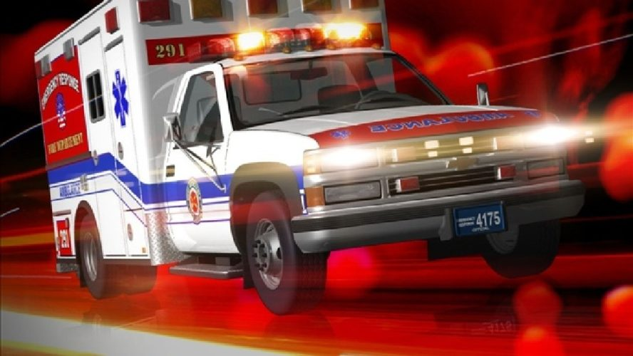 Vehicle rollover after avoidance maneuver south of Sedalia