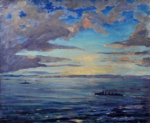 Firth of Forth Churchill Painting