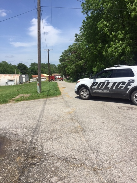 Gas leak stopped, perimeter removed around Green Street in Carrollton