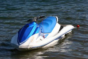 One injured when teen's jet-skis collide