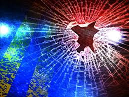 Possible rear-end collision on I-70