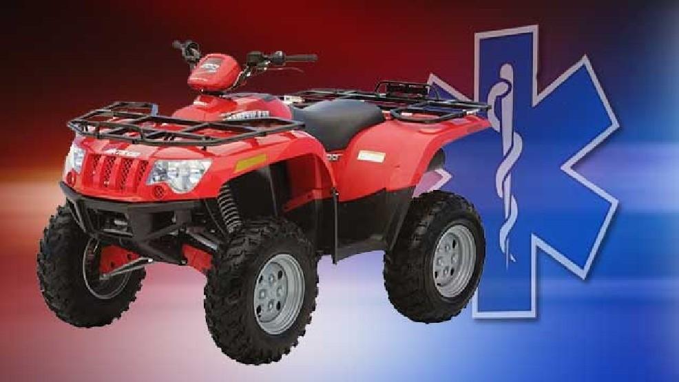 One injured in ATV mishap