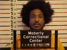 This mug shot of Charleston B. Leach, 31, of Brookfield, Mo. is from a previous arrest.