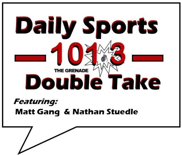 "101.3 ""The Grenade"" Daily Sports Double Take: 06/27"