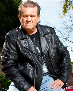 Butch Patrick AKA Eddie Munster in Slater with Munsters hot rods and more