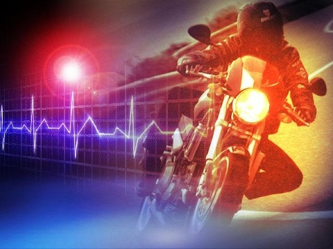 A motorcycle rider was seriously injured Friday during a crash in Osage County