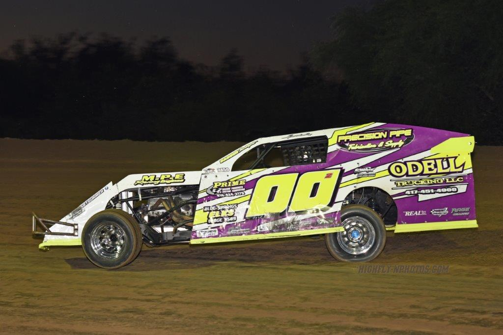 Central Missouri Speedway race results:  08/20/16