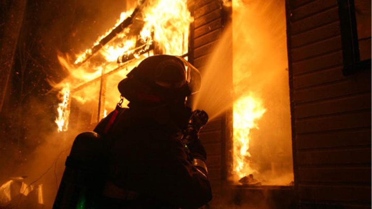 Novinger home burns