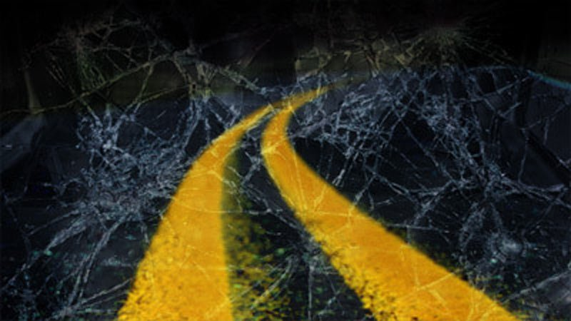 Grain Truck overturns at Platte County on-ramp
