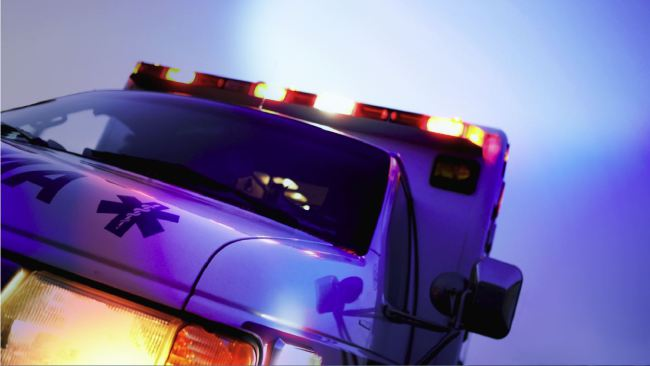 Unoccupied vehicle left in driving lane causes crash
