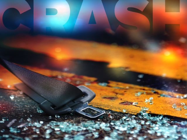 Injuries sustained after opposing vehicles crash