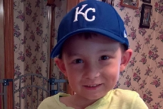 Community gathers to support boy diagnosed with cancer for second time