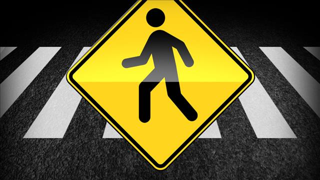 Two pedestrians struck by vehicle being sought by police