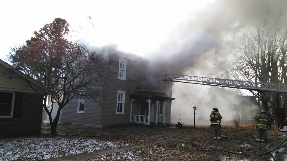 Home deemed total loss after fire in Wellington Friday