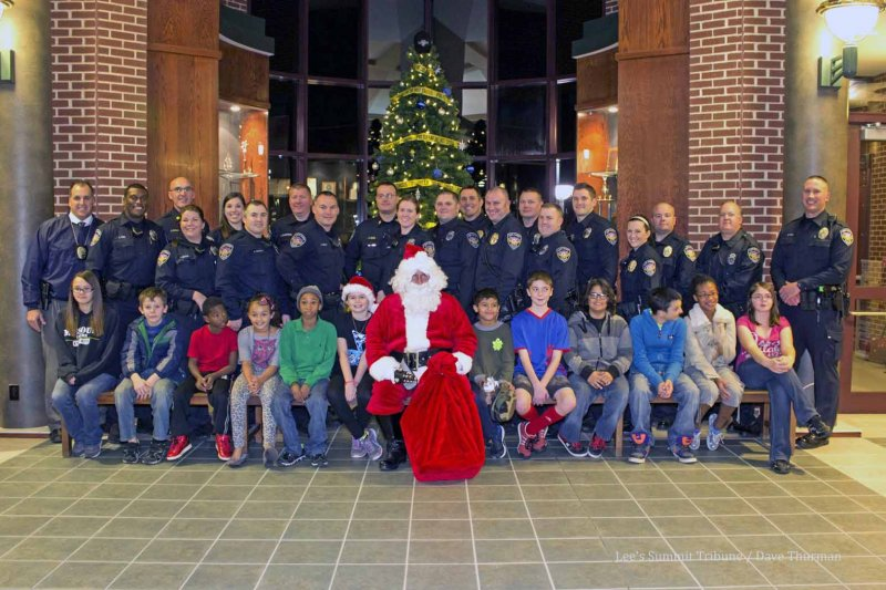 30th Annual Shop with a Cop tomorrow in Lee's Summit