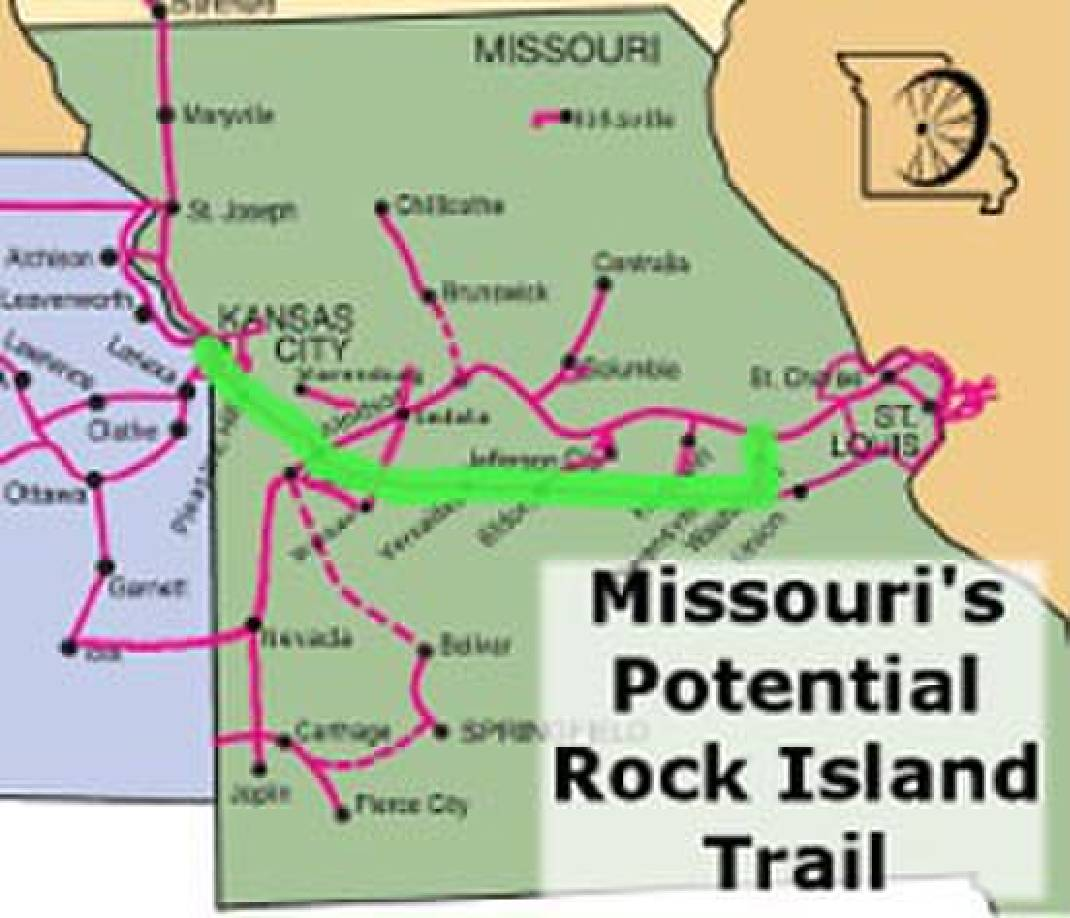 144-mile hiking and biking trail expected in Missouri's near future