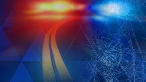 Serious injuries occurred during single vehicle accident