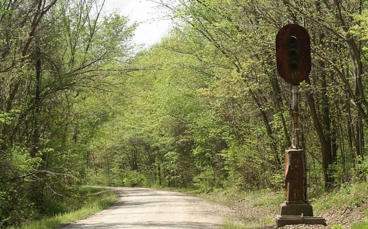 Sedalia losing a mile of the Katy Trail