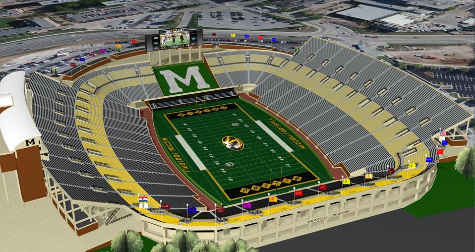 Curators hire architect for Missouri stadium renovation