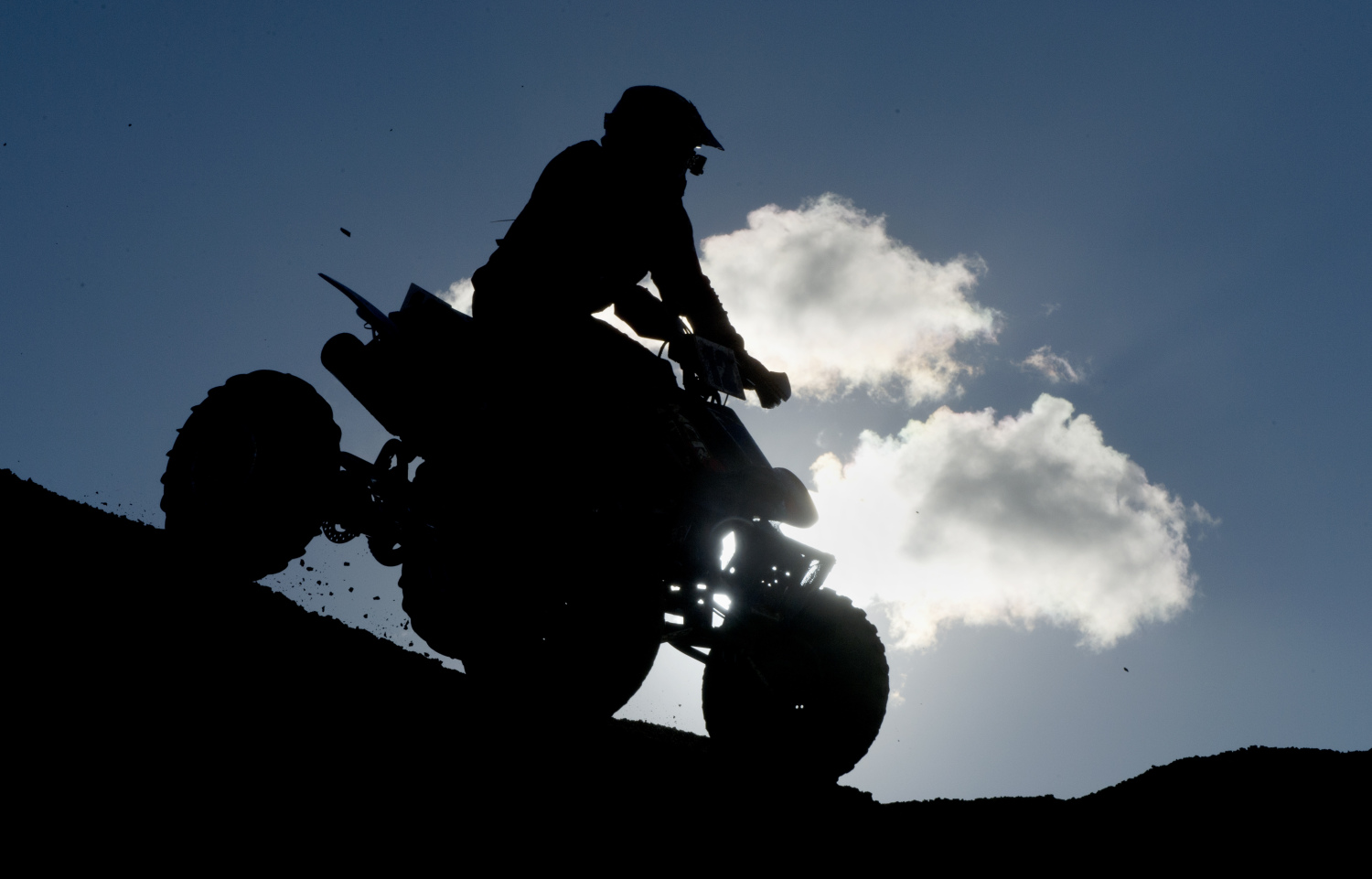 Driver of ATV injured during rollover