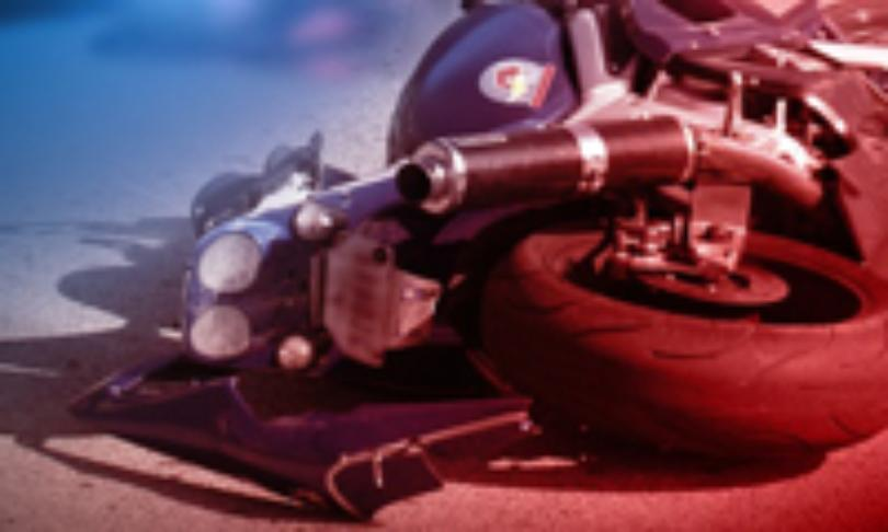 Driver thrown from bike after roadway maneuver