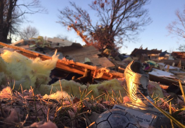 NEWSMAKER — Smithville residents clean up and recover following early March storm