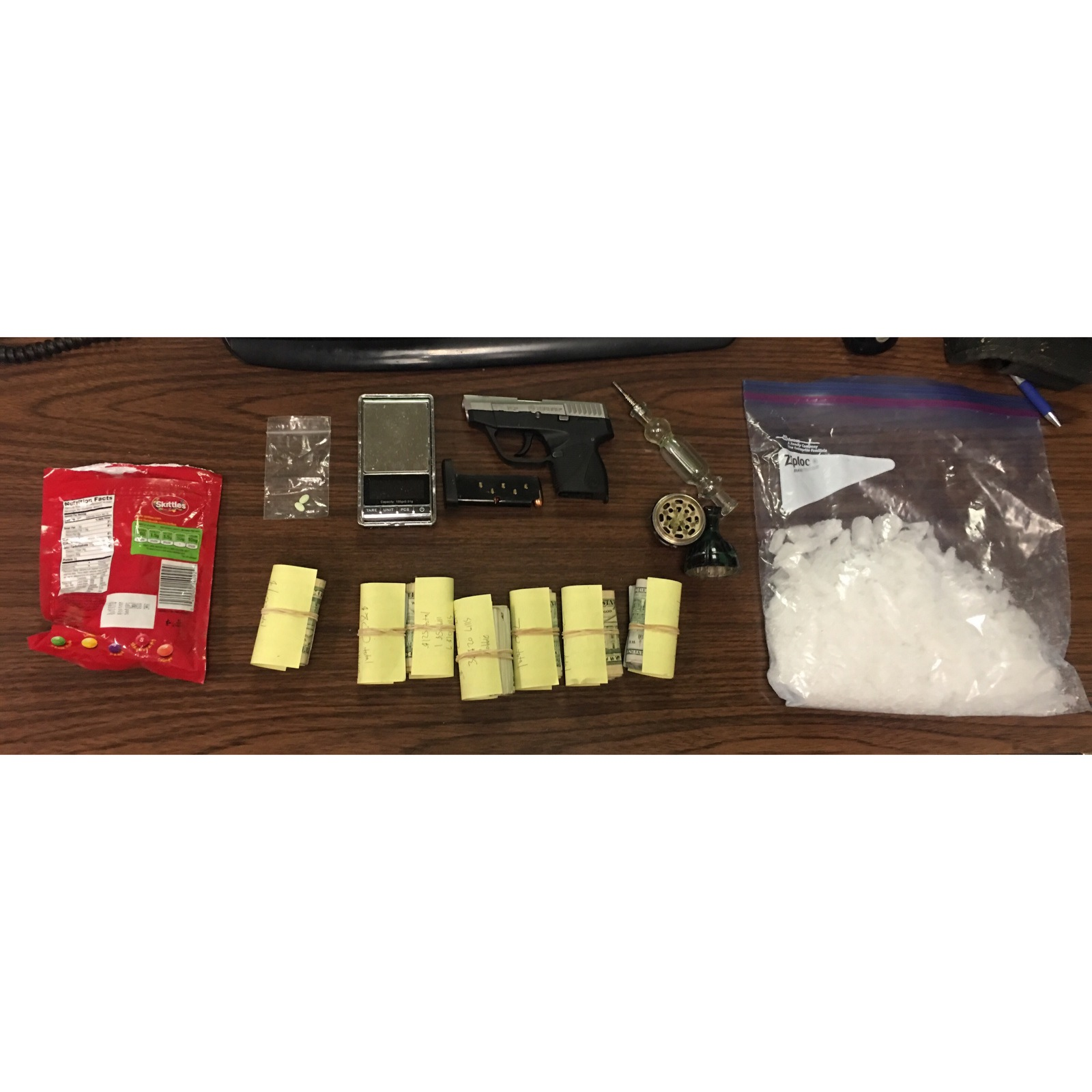 Large amounts of meth and cash seized in Henry County