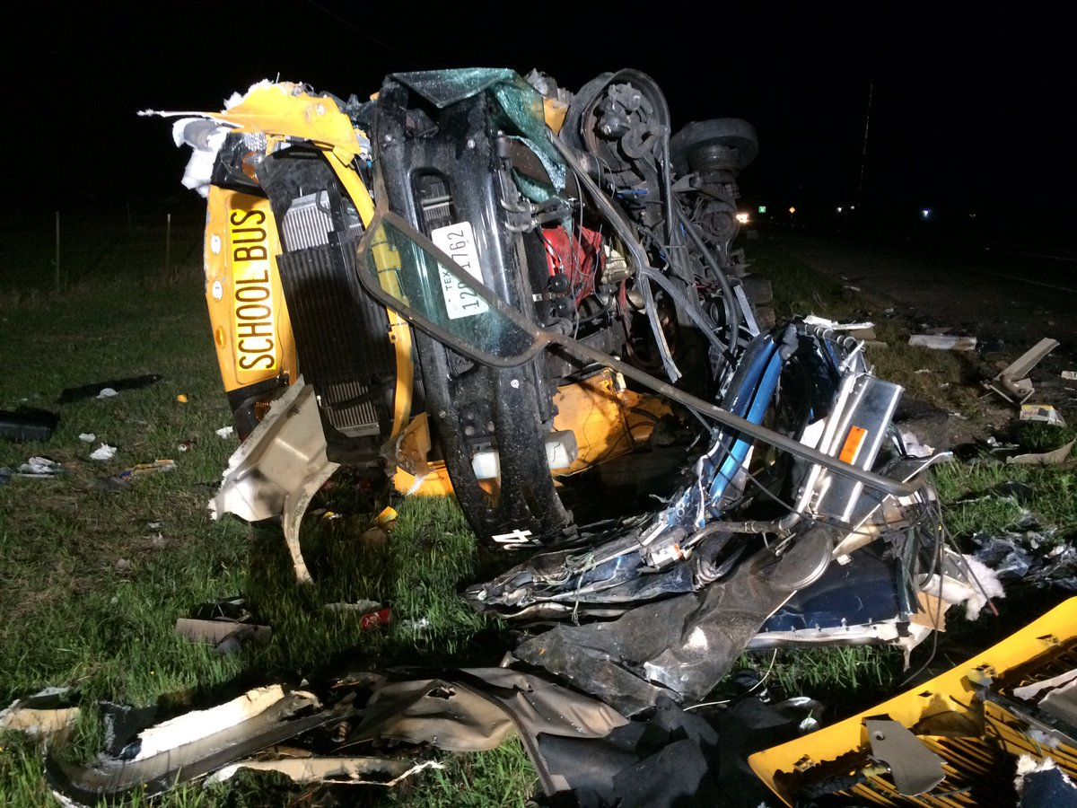 Bogard trucker killed in collision with school bus in Texas Thursday night