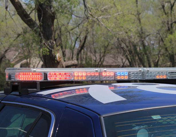 Police car involved in Kirksville crash