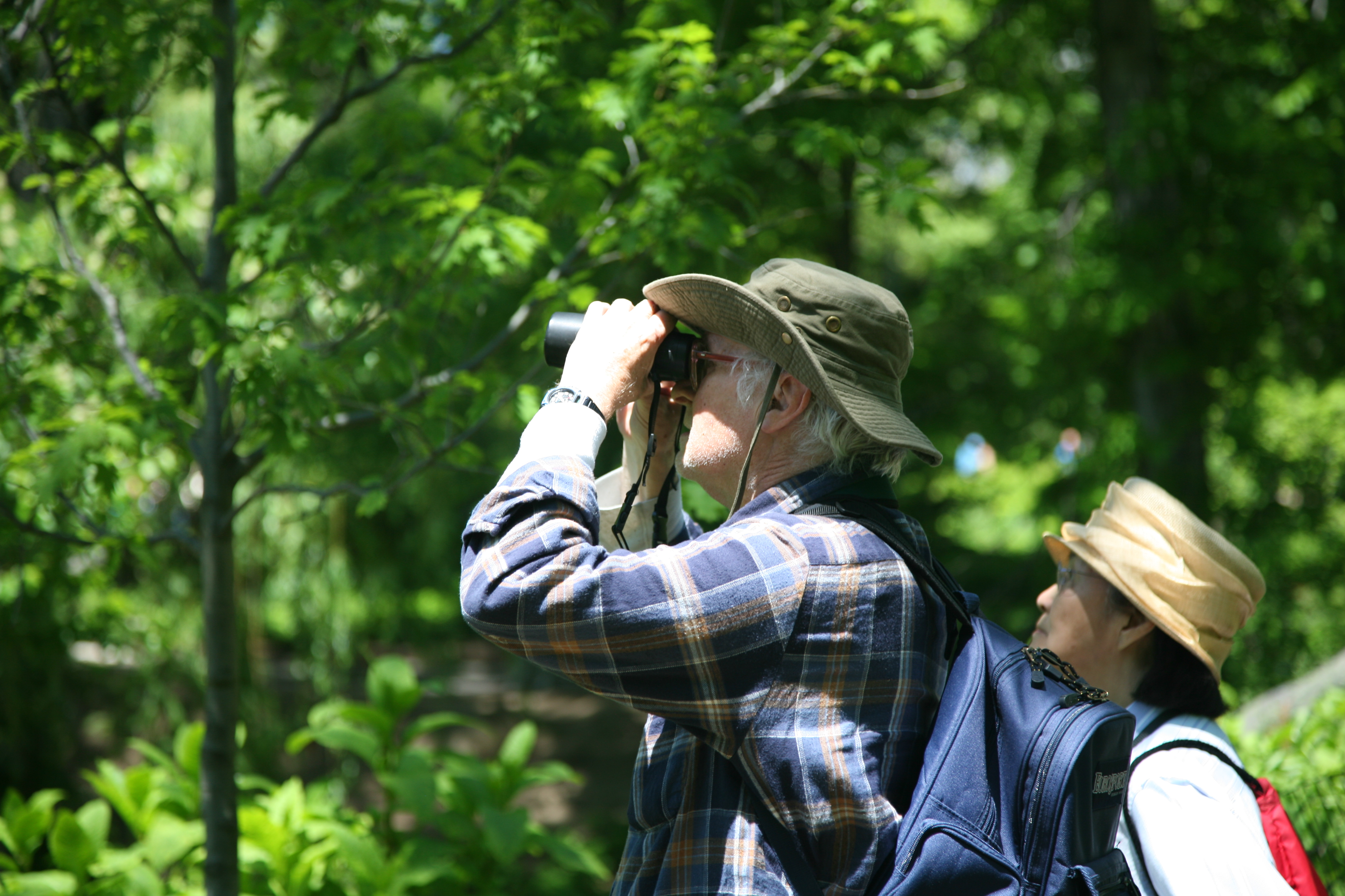NEWSMAKER — Naturalist suggests bird watching this Spring