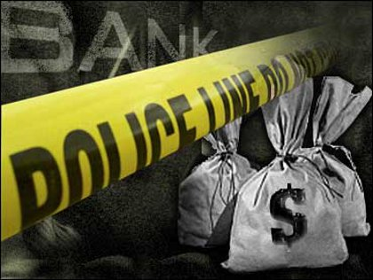 Suspects arrested after fleeing scene of bank robbery