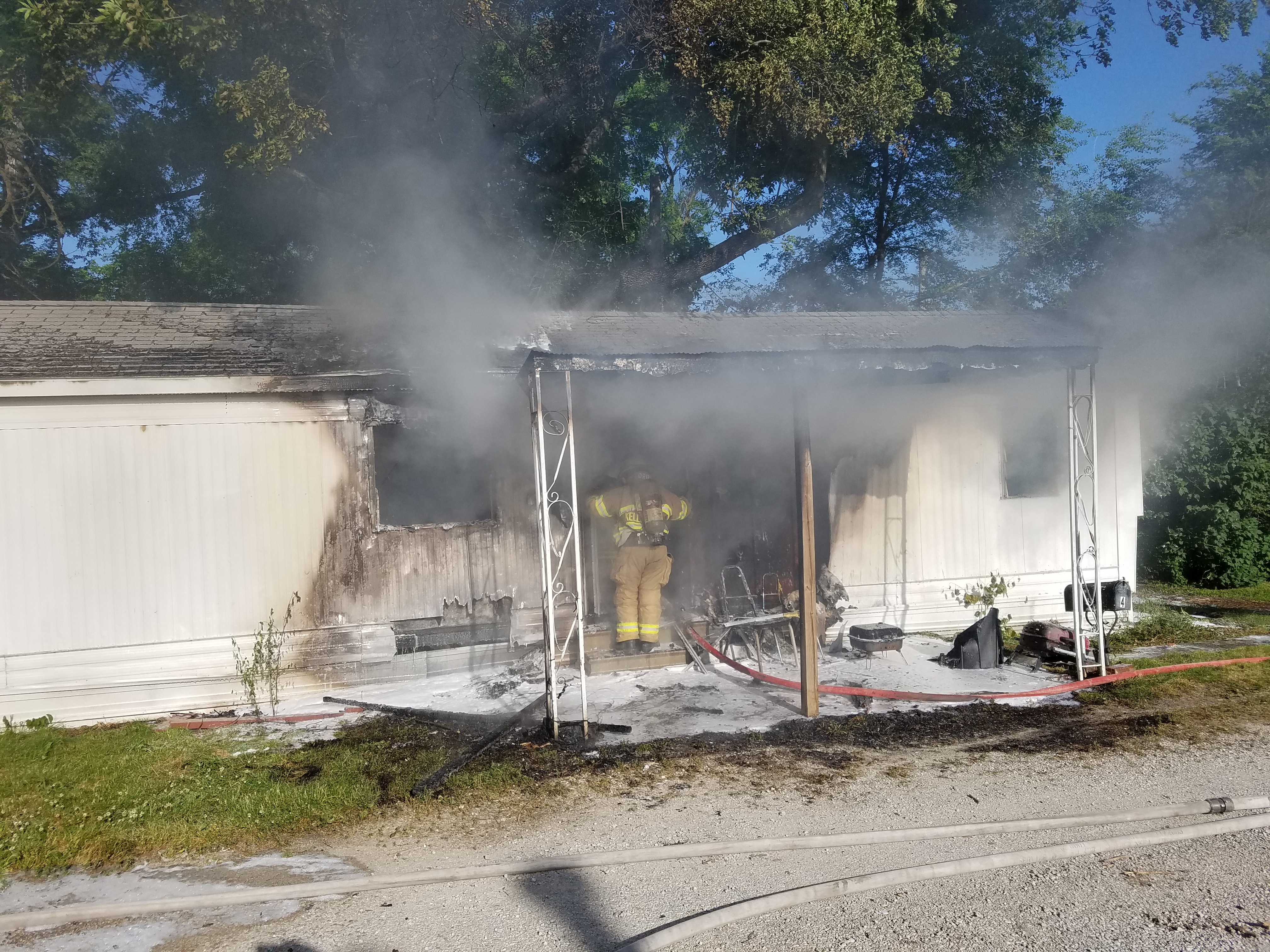 Structure fire in Chillicothe causes significant damage