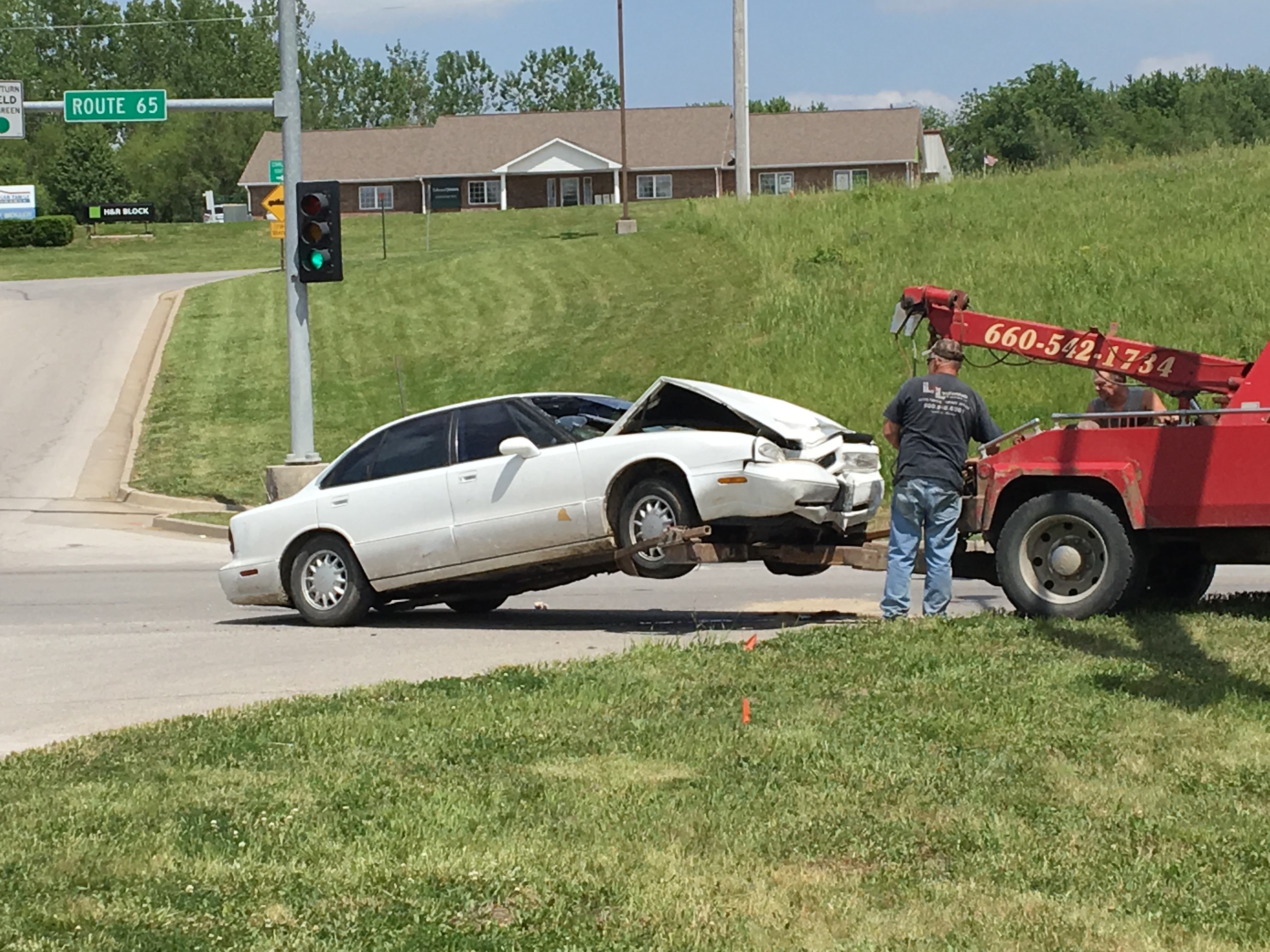 UPDATE– Crash in Carrollton at 65 Hwy & Harvest Hills