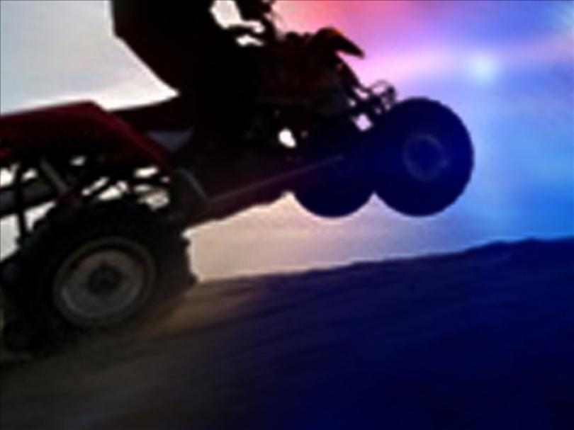 Serious injuries result from ATV crash into barbed wire fence