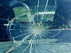 Rollover crash down steep embankment injures driver